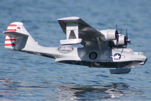 DYNAM  PBY CATALINA TWIN GREY 1470MM DYN8943G